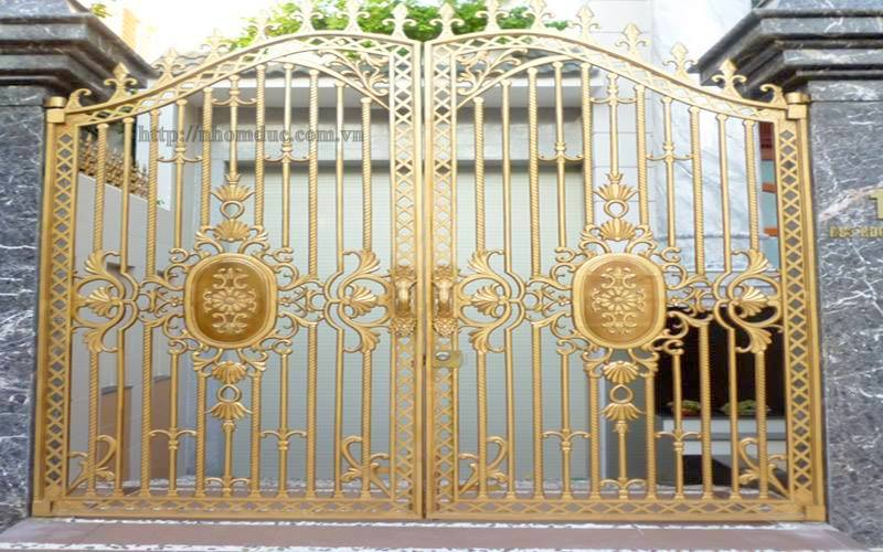 Hàng rào hợp kim nhôm đúc, Hàng rào nhôm đúc được đúc nguyên khối từ nhôm hợp kim có độ bền cao không gỉ, không ô xi hóa.