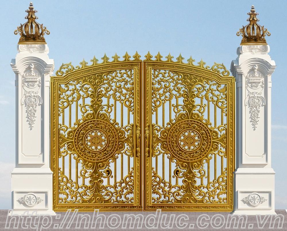cổng nhôm đúc, cổng nhôm