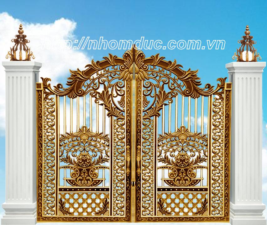 Cửa cổng nhôm đúc tại Hải Phòng, cty Fuco chuyên sản xuất, phân phối các sản phẩm cửa cổng nhôm đúc tại Hải Phòng và các tỉnh thành khác