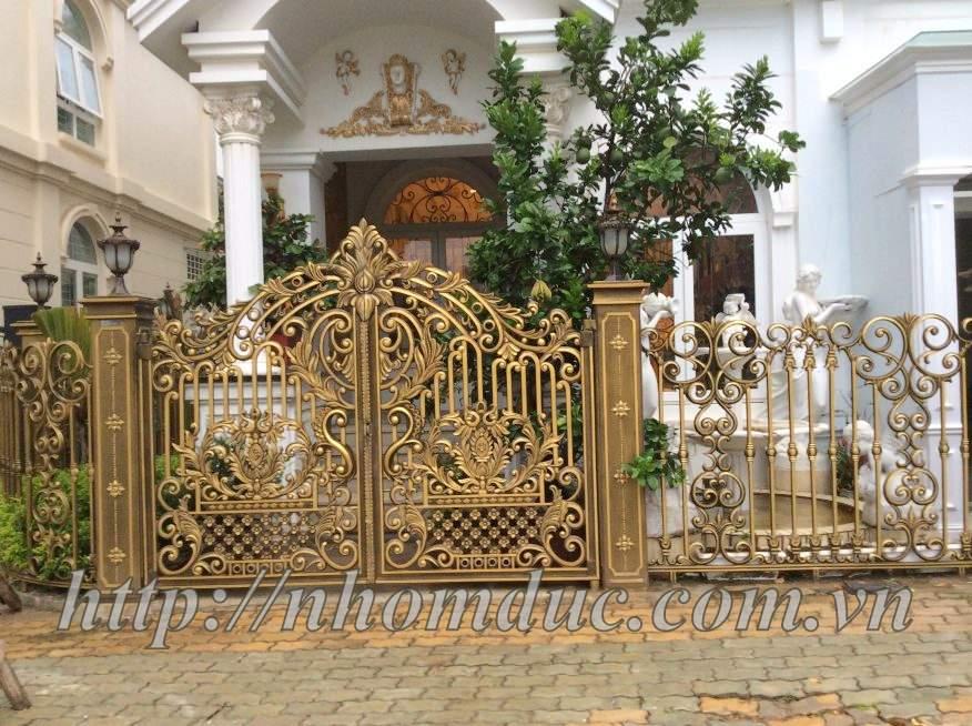 Cổng nhôm đúc tại Hải Phòng