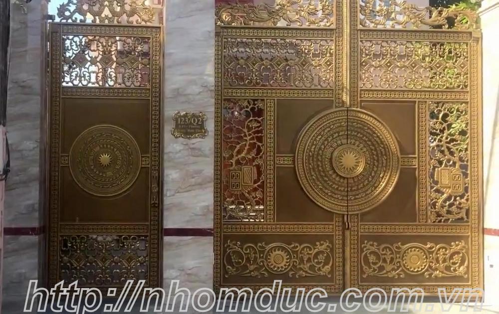 Cổng nhôm đúc tại Hà Nội, Nhôm đúc giá rẻ nhất