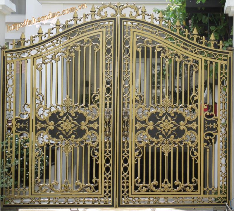 Cửa cổng hợp kim nhôm đúc – nhôm đúc Fuco