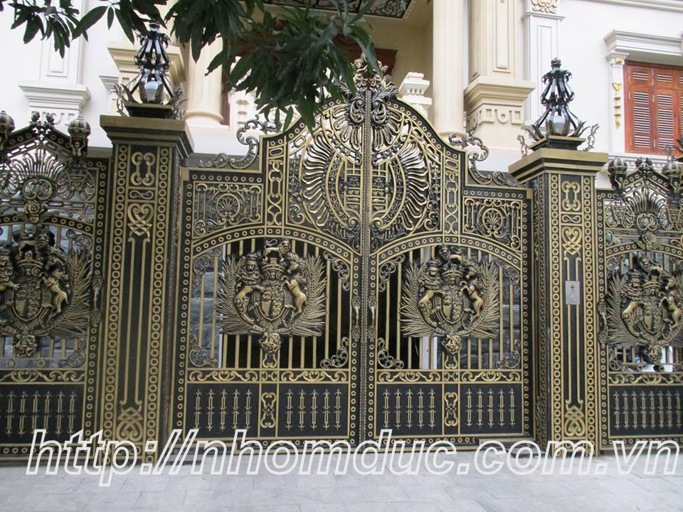 báo giá các loại cửa cổng, báo giá cổng nhôm đúc, Báo giá cổng nhôm đúc Fuco, Báo giá cổng nhôm đúc tốt