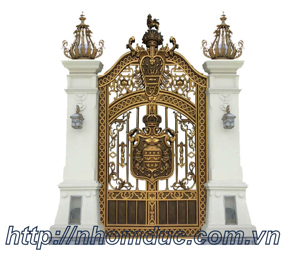 Đơn vị sản xuất cổng cửa nhôm đúc Hà Nội