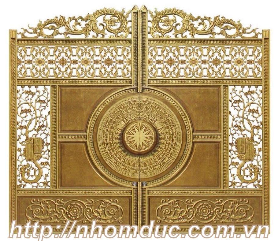 Cổng nhôm đúc tại Vĩnh Phúc