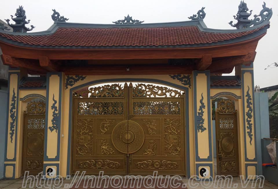 Công trình nhôm đúc chú Quang, Thành Phố Vĩnh Yên