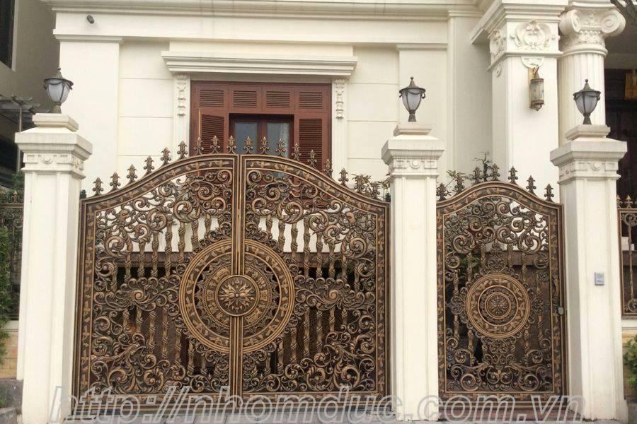 cổng nhôm đúc Fuco