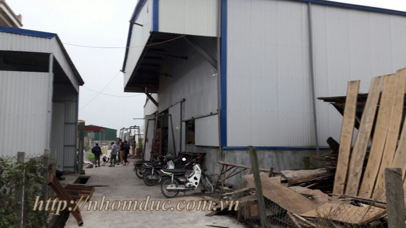 Thi công nhôm đúc tại Nam Định, nhà máy nhôm đúc nam định