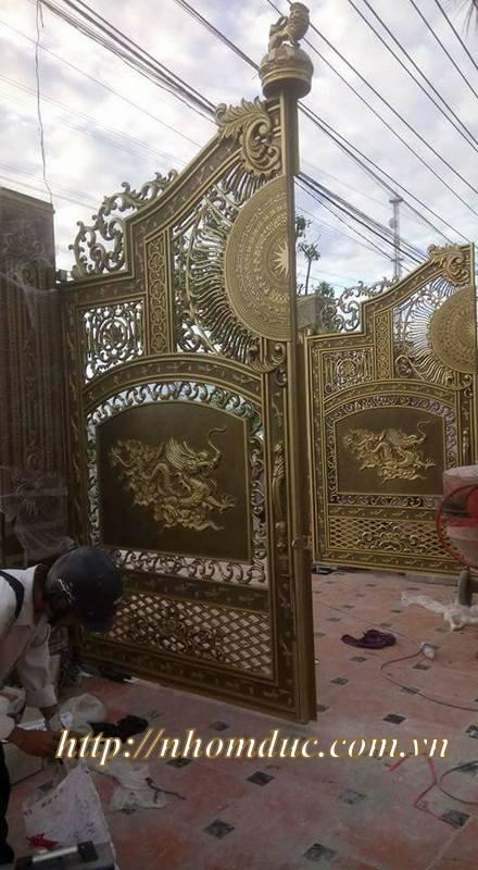 Sản phẩm nhôm đúc, Báo giá cửa nhôm đúc tại Hà Nội