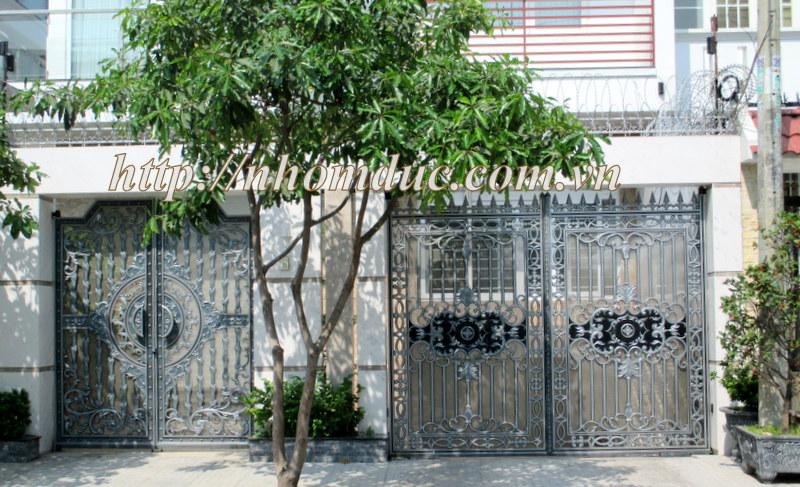 Quy trình sản xuất cổng nhôm đúc