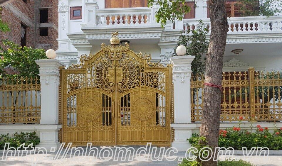 Cổng nhôm đúc Hà Nội đẹp nhất ở đâu