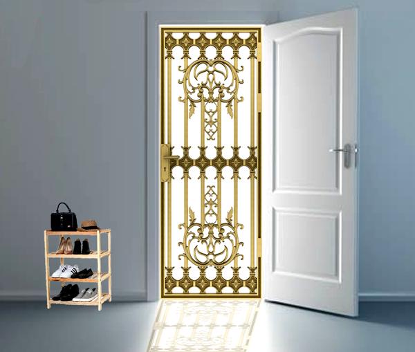 Quy trình thiết kế cổng nhôm đúc