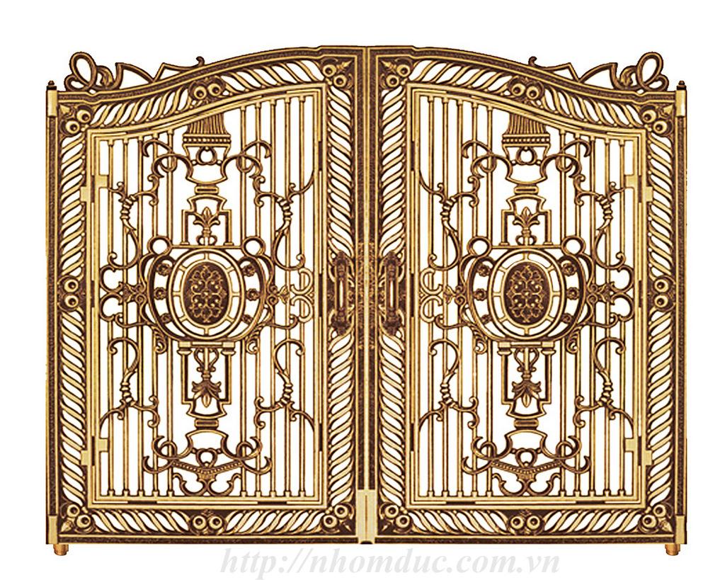 cửa cổng nhôm đúc GAT 141