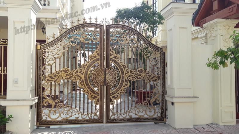Quy trình sản xuất cổng nhôm đúc, Các công đoạn sản xuất 1 bộ cửa nhôm đúc, các bước cơ bản sản xuất bộ cửa.