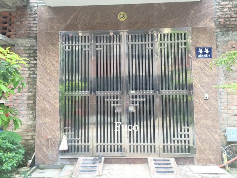 Báo giá cổng cửa INOX Fuco