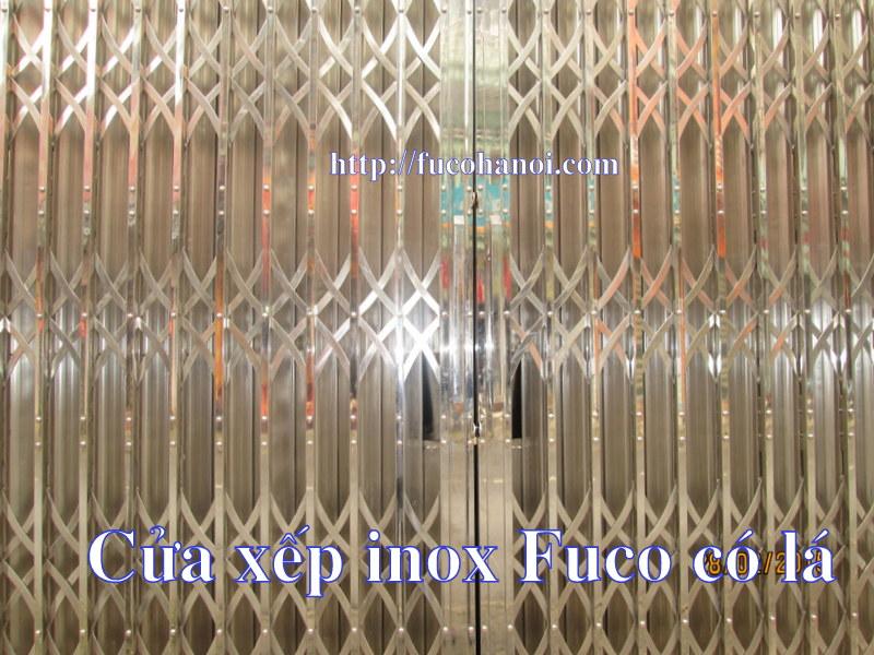 Cửa xếp INOX 304 Fuco