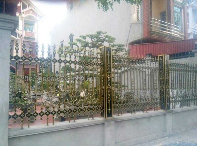 Chuyên thiết kế, thi công, lắp đặt hàng rào hợp kim nhôm đúc, hàng rào nhôm đúc, cổng hợp kim nhôm đúc, cửa hợp kim nhôm đúc