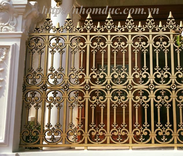 Ưu điểm của Hàng rào nhôm đúc, hàng rào biệt thự