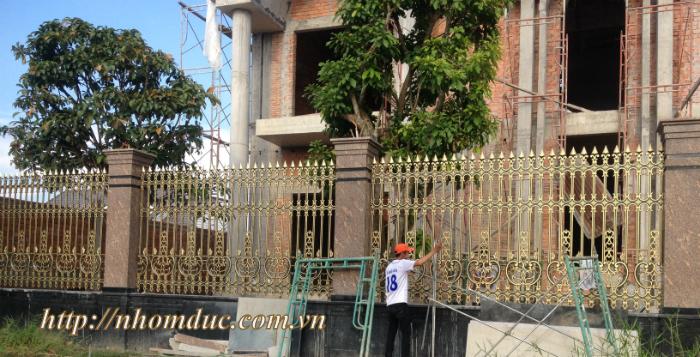 Hàng rào nhôm đúc - Hàng rào biệt thự