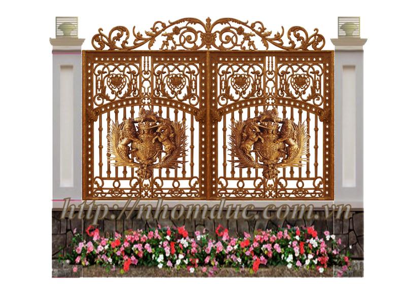 Hàng Rào Nhôm Đúc, Hàng Rào Hợp Kim Nhôm Đúc