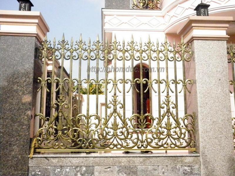 cửa cổng biệt thự fuco hà nội. Menu, Các loại cửa cổng nhôm đúc biệt thự cao cấp, tại Hà Nội, Sài Gòn và các tỉnh thành của Việt Nam, Hàng rào nhôm đúc