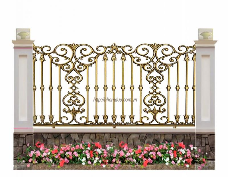 Sản xuất, thi công lắp đặt cổng biệt thự, cổng nhôm đúc, hàng rào nhôm đúc. Mẫu cổng nhôm đúc. Liên hệ với Fuco để biết về các sản phẩm hàng rào