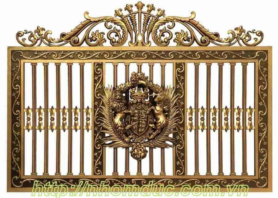 Mẫu hàng rào nhôm đúc giá cao