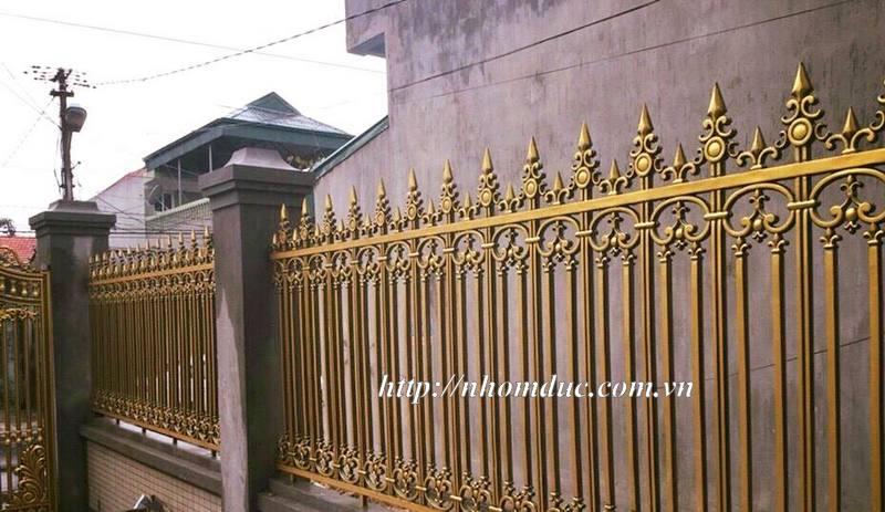 công cửa nhôm đúc, cổng nhôm đúc, hàng rào nhôm đúc, ban công nhôm