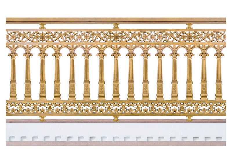 Hàng rào hợp kim nhôm đúc, được làm từ chất liệu chính là nhôm, hàng rào nhôm đúc được khá nhiều gia đình sử dụng vì hàng