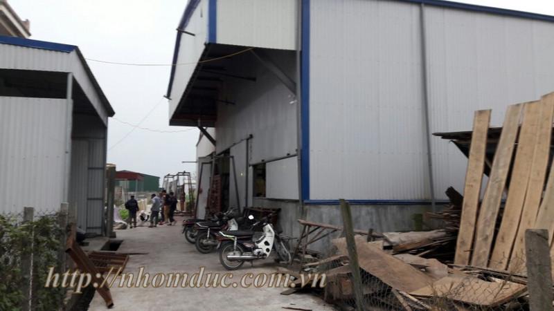 nhà máy sản xuất nhôm đúc tại hải vân, hải hậu, nam định