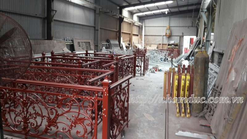 Xưởng sản xuất nhôm đúc Fuco cao cấp