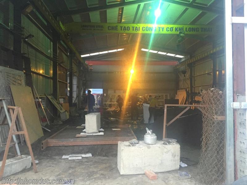 Xưởng sản xuất nhôm đúc - Nhôm đúc Fuco