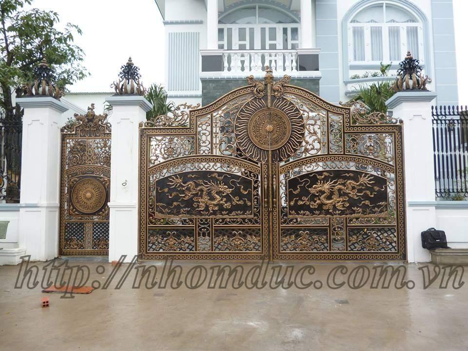 Ngắm nhìn những mẫu cổng biệt thự đẹp