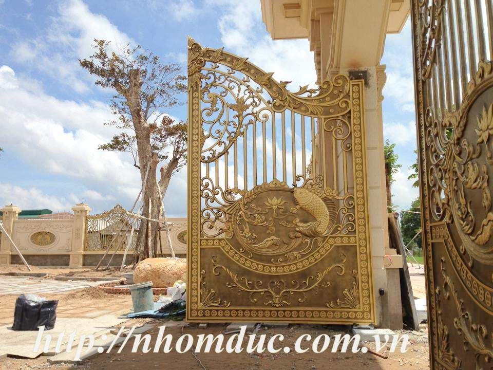 Báo giá nhôm đúc, báo giá các loại cổng nhôm đúc từ cổng nhôm đúc