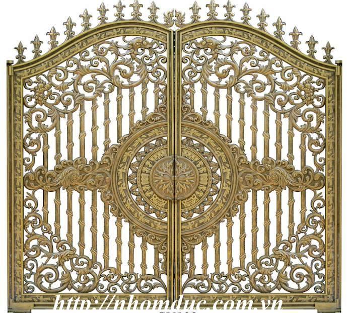 Báo giá cổng nhôm đúc Fuco