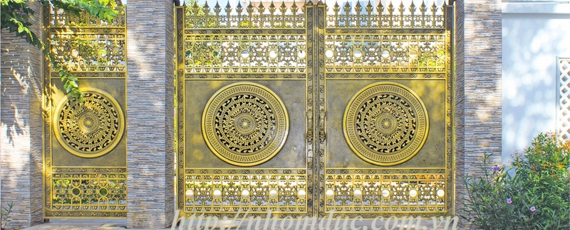 Mẫu cổng biệt thự đẹp giá rẻ