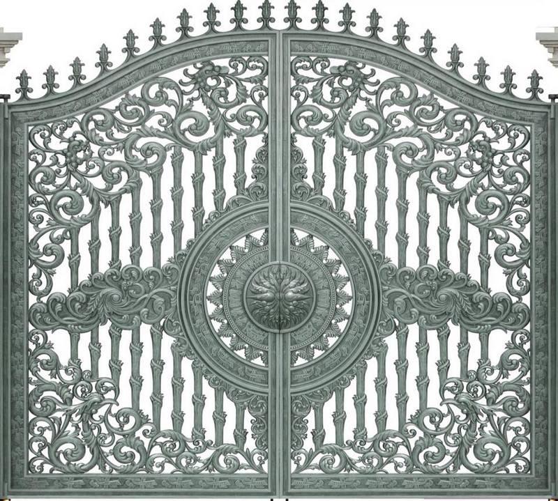Cửa cổng nhôm đúc Bình Dương - Nhôm đúc Bình Dương, cty Fuco thi công công trình nhôm đúc, cửa nhôm đúc, cổng nhôm đúc, hàng rào nhôm đúc