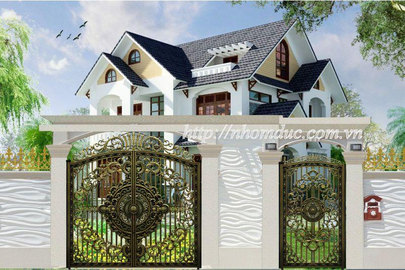 Cửa cổng nhôm đúc tại Lai Châu,  Nhôm đúc Fuco
