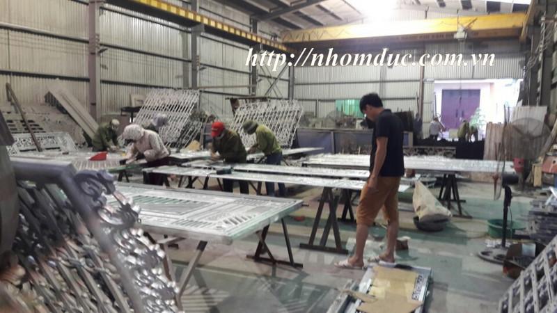 Thi công nhôm đúc tại Nam Định, nhà máy nhôm đúc hợp kim