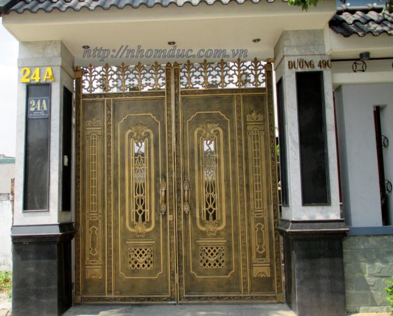 cửa nhôm đúc Hà Nội