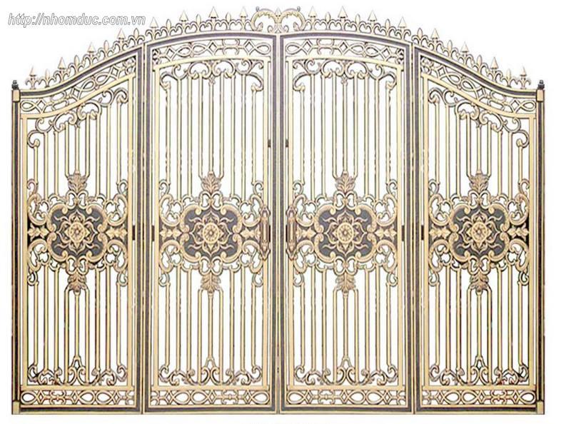 Vật liệu thiết kế và sản xuất lên bộ cổng đa dạng, phong phú và nhiều chất liệu