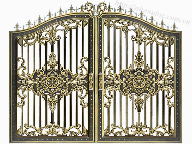 Cửa cổng hợp kim nhôm đúc, sản phẩm nhôm đúc công nghệ Nhật Bản. Nhôm đúc Fuco